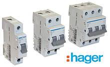 Автоматические выключатели, устройства защитного отключения (узо) Hager