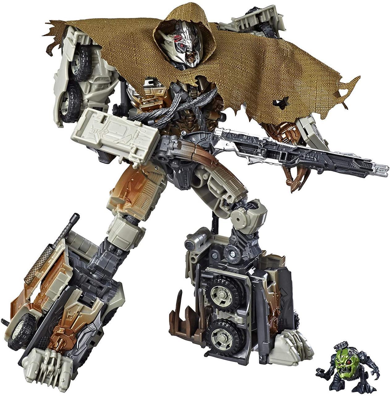 Робот-трансформер Hasbro Мегатрон, Тёмная Сторона Луны, 22 см - Transformers DOTM Megatron Studio Series