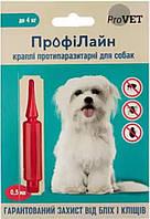 PR241266 Природа ProVET Профілайн для собак до 4 кг, 1 шт