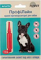 PR241268 Природа ProVET Профілайн для собак 4-10 кг, 1 шт