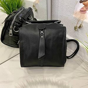 Сумка-рюкзак Compact черный КОМ1