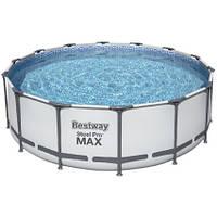 Bestway Каркасный бассейн Bestway 5612Z (488х122 см) с картриджным фильтром, лестницей и тентом