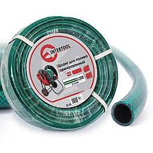 Шланг для полива - 1/2 х 30 м зеленый 3-х слойный Intertool | GE-4025