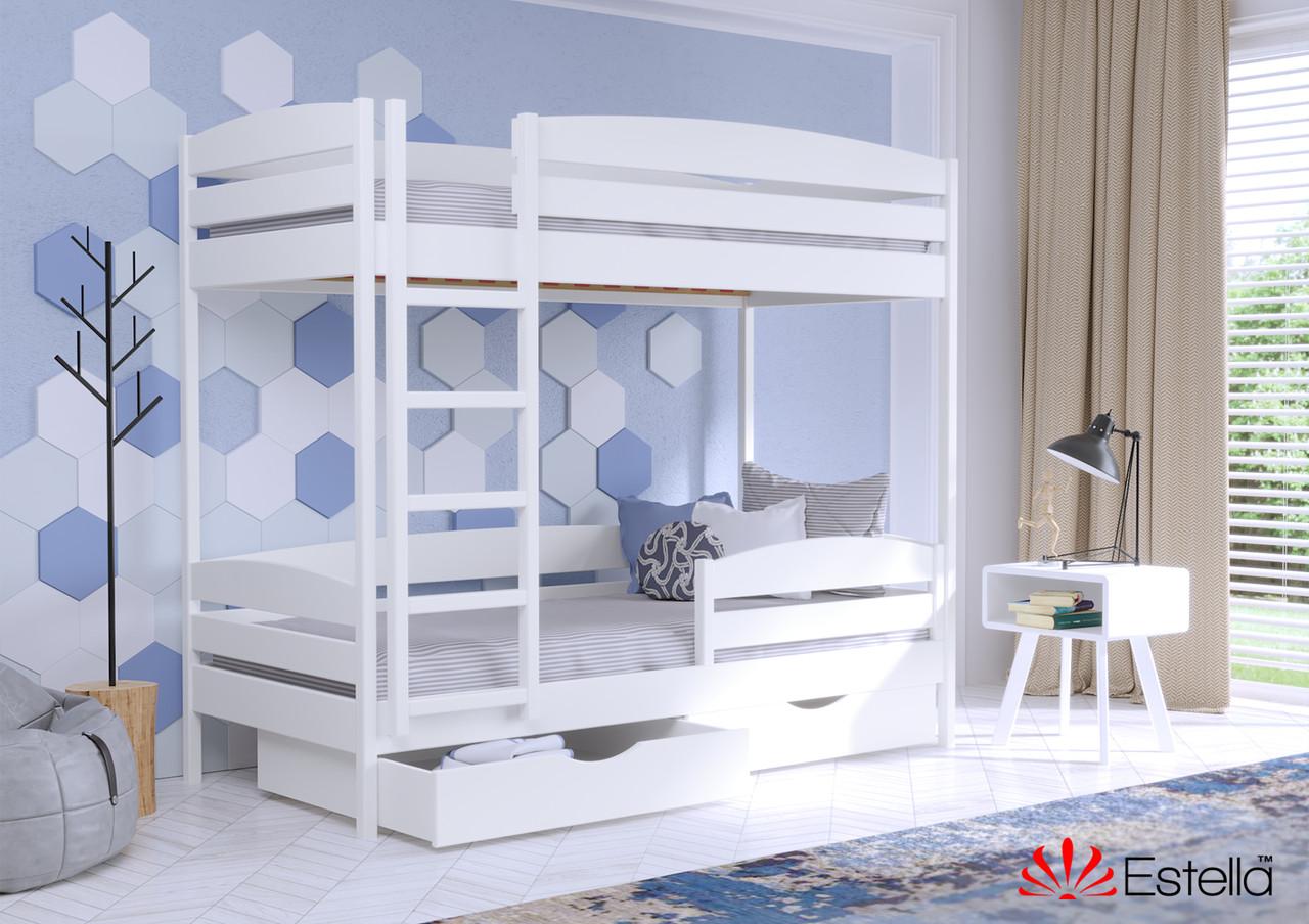 Двоярусне ліжко Дует Плюс 80х190 107 Щит h 181 2Л4