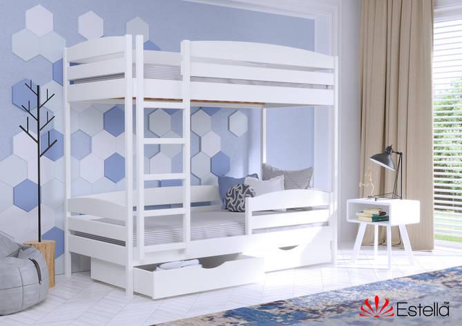 Двоярусне ліжко Дует Плюс 80х190 107 Щит h 181 2Л4, фото 2