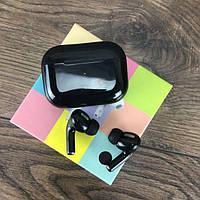 Беспроводные bluetooth наушники AirPros с микрофоном беспроводные блютуз наушники для телефона смартфона black