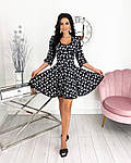 Женское платье, супер - софт, р-р 42-44; 46-48 (чёрный), фото 3