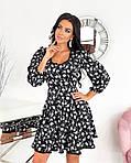 Женское платье, супер - софт, р-р 42-44; 46-48 (чёрный), фото 4