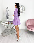 Женское платье, супер - софт, р-р 42-44; 46-48 (сиреневый), фото 2