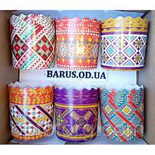 Бумажные формы для выпечки  70*65 Традиционные