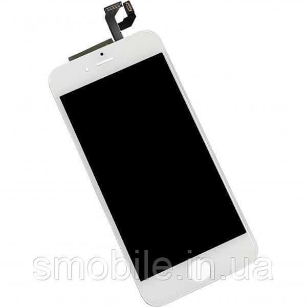 Дисплей iPhone 6S с сенсором и рамкой, белый (оригинальная матрица)