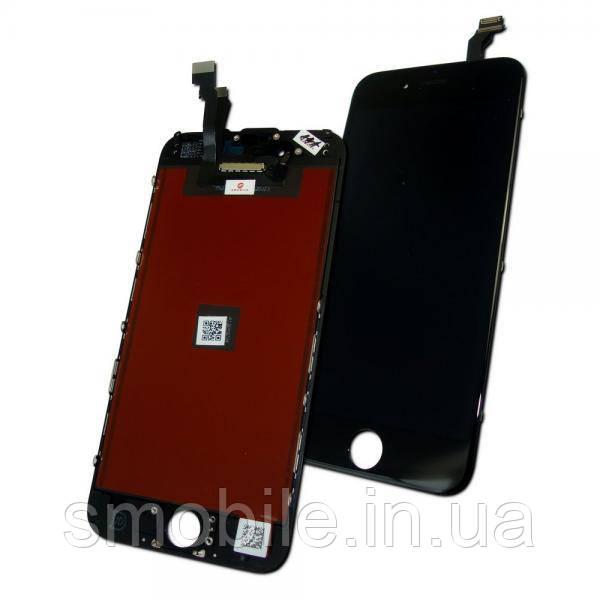 Дисплей iPhone 6 с сенсором и рамкой, черный (копия AAA)