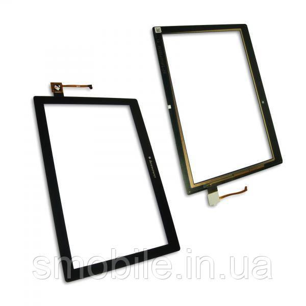 Сенсорный экран Lenovo A10-70F A10-70L Tab 2 черный (оригинальные комплектующие)