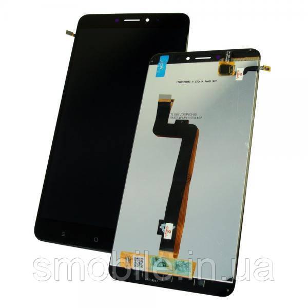 Дисплей Xiaomi Mi Max 2 с сенсором, черный (оригинальные комплектующие)