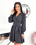 Жіноче плаття, супер - софт, р-р 42-44; 46-48 (чорний), фото 3