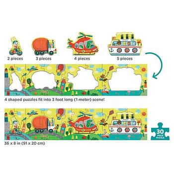Довгий пазл Transportation (30 елементів)