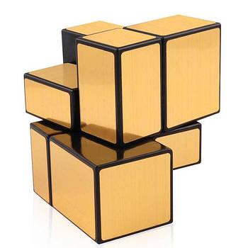 Головоломка YJ 2х2 Mirror Cube золота