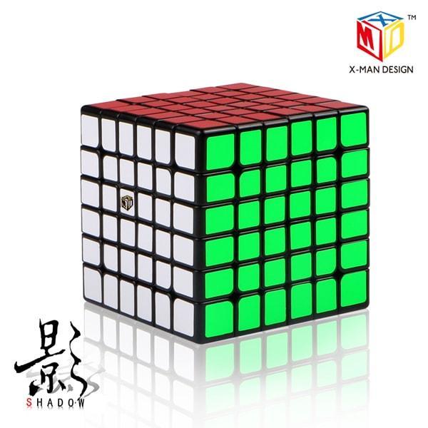 QiYi X-Man Shadow 6x6 black | Кубик 6х6 чорний
