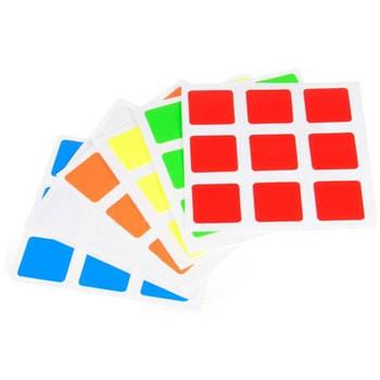 Наклейки на класичні кубик 3х3 Classic