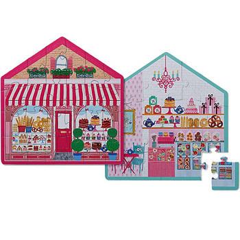 Двосторонній Пазл Sweet House Shop (24 частини)