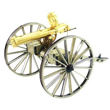 "Металевий ЗD констуктор ""Wild West Gastling Gun"""