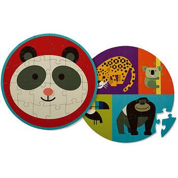 Двосторонній Пазл Panda Friends (24 частини)