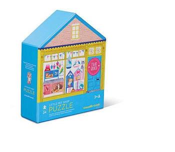 Двосторонній Пазл House Little Pet Shop (24 частини)