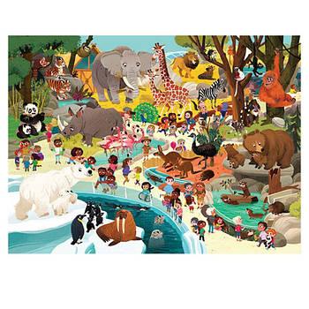 Пазл Day at the Zoo (48 частин)