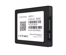 """Накопичувач SSD 2.5"""" 480GB KingChuxing K525 R489MBs W459MBs SATA III 7мм новий"""
