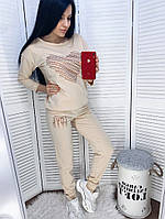 Женский стильный прогулочный костюм с принтом Норма, фото 1