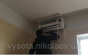 Профессиональная установка настенной сплит системы 07-09 (до 25 м кв, магистраль 3м)