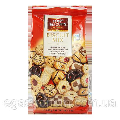 Печиво Фейні Біскют мікс бісквіту та шоколадного печива Feiny biscuit 400g 10шт/ящ (Код : 00-00005740)