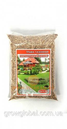 Суміш газонних трав Смарагдовий Килим (стійка до витоптування) 0.5 кг