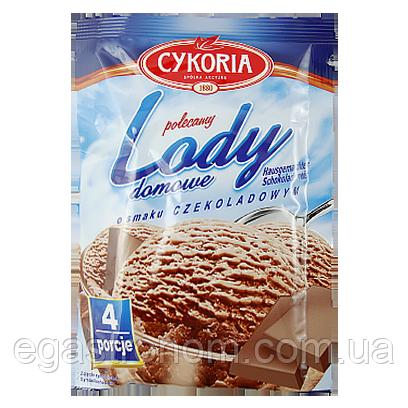 Морозиво сухе Цикорія із шоколадним смаком lody domowe Cykoria o smaku czekoladowym 60g 25шт/ящ (Код :