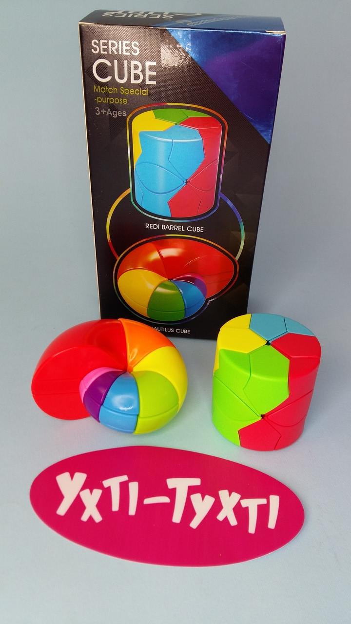 Кубик-логіка, два в одній упаковці - равлик і циліндр, в коробці 11*6,6*20,6 см FX7866 Ухти Тухти