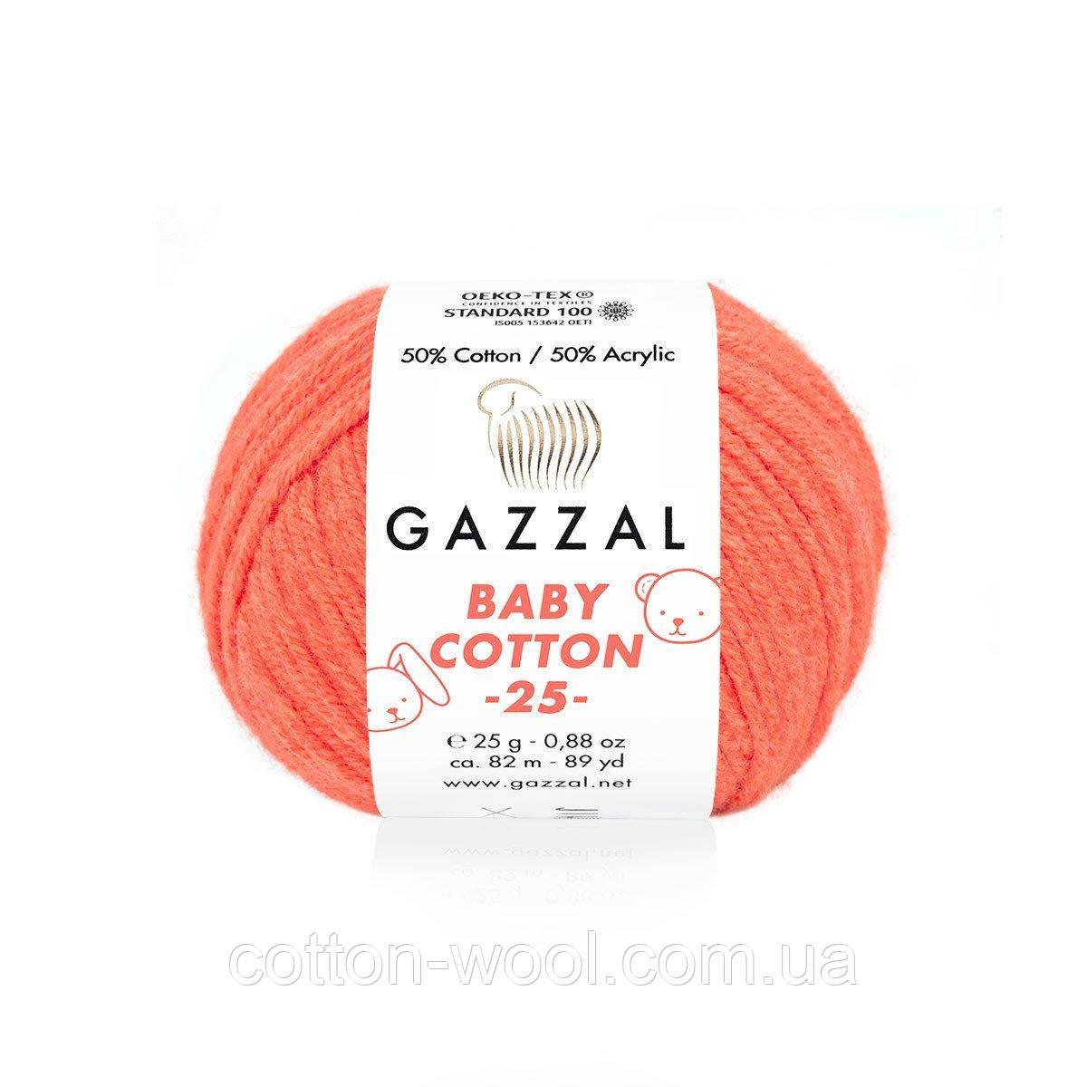 Gazzal Cotton Baby 25 (Бебі коттон 25) 3459