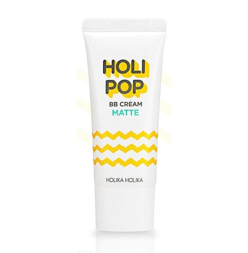Матуючий ВВ крем Holika Holika з екстрактом центели азіатської Holipop BB Cream-Matte