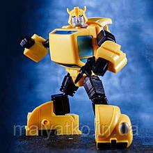Трансформер Бамблби, Агент Шмель, KuBianBao, 10см Transformer, Bumblebee, Agent Hornet