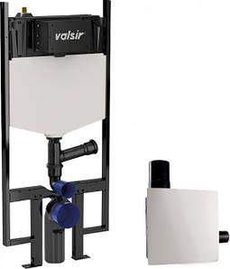 Зливний бачок механічний зі станиною і вентиляційною системою Valsir Tropea S Block S90 Ariapur