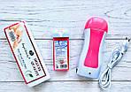 Набор для депиляции (воскоплав кассетный, кассета, полоски 100 шт)