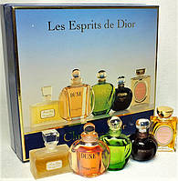 Сhristian dior набор винтажных духов. Большая редкость. 5 по 5 млл чистых духов. Оригинал. Франция.