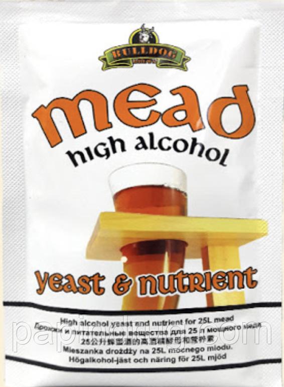 Дрожжи для медовых браг (медовухи) MEAD High Alcohol Yeast (Великобритания)
