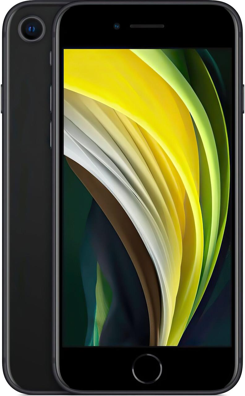 Смартфон Apple iPhone SE 2020 64GB Black (Full Box)