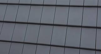 Черепица керамическая  Bergamo антрацит ангобированная