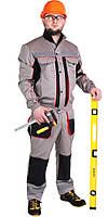 Спецодежда рабочий костюм куртка с полукомбинезоном «ЛТМ» саржа (Нидерланды)