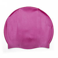 Шапочка для плавания 26006 резиновая (Фиолетовый)