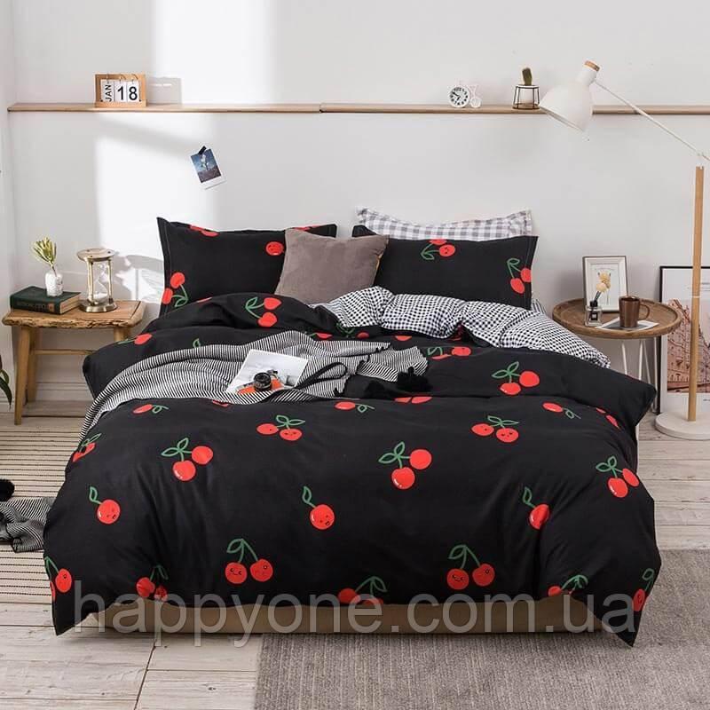 Полуторный комплект постельного белья Cherries