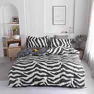 Комплект постільної білизни Zebra (двоспальний євро), фото 4