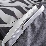 Комплект постільної білизни Zebra (двоспальний євро), фото 5