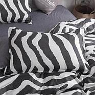 Комплект постільної білизни Zebra (двоспальний євро), фото 7